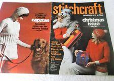 ORIGINAL, VINTAGE, STITCHCRAFT MAGAZINE,  DECEMBER 1970 No. 444