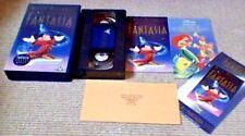 WALT DISNEY'S Masterpiece FANTASIA UK PAL Dolby Digital Surround VHS VIDEO 1991