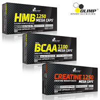 HMB + BCAA AMINO ACIDS + CREATINE MONOHYDRATE - Powerful Muscle Growth Combo Set