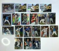 2020 Topps Chrome Baseball Update Series LOT - Rookies, Stars AUTO Refractor +++