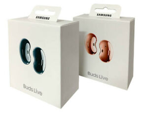 Samsung Galaxy Buds Live True Wireless Earbuds Noise Cancelling - Black & Bronze