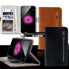 Para Varios Modelos Teléfono Inteligente-Abatible Cubierta De pie Billetera Estuche de Cuero Magnética