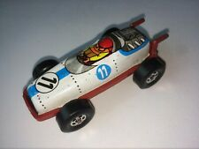 Vintage collectible litho metal Race car Pencil Sharpener