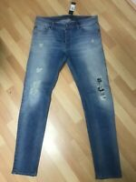 NWD Mens Diesel DNA SLEENKER Stretch Denim O672I BLUE Slim W34 L34 H6.5 RRP£150