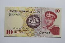 LESOTHO 10 MALOTI 1981 UNC B27 BLEI - 5
