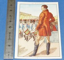 CHROMO 1950 GRANDE IMAGE BON-POINT BLEDINE COSTUME MACULIN 1er EMPIRE 1811