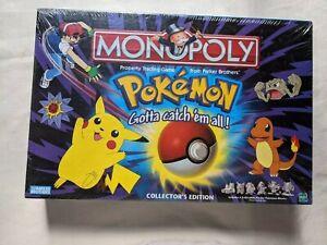 Pokemon monopoly original version new and sealed. M