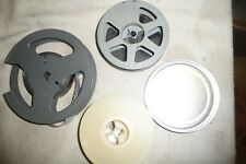 Cine film 16mm empty reels 100ft 95 & 130mm wit hsome film + 1.5 cans ......1