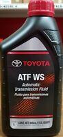 4 Quart GENUINE TOYOTA ATF WS Automatic Transmission Oil Fluid ATFWS Lexus Scion