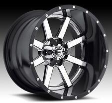 Fuel Maverick 20x10 8x180 ET-19 Chrome Wheels (Set of 4)