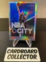 Luka Doncic 2019-20 NBA Hoops Premium Stock NBA CITY SILVER PRIZM #30