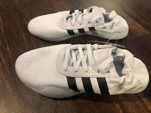 New Adidas Taekwondo Team Womens Shoes Size 7 Off White Black