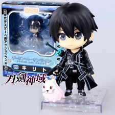 New In Box S A O Nendoroid Sword Art Online Kirigaya Kazuto Kirito PVC Fig