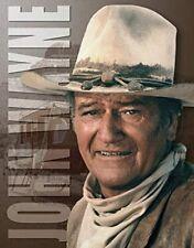 """Tin Sign John Wayne Stagecoach Measures 16"""" X 12 1/2 Tsn1188"""