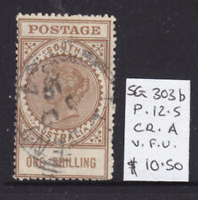 South Australia: 1/ Qv Long Tom Sg 303b Wmk C/A Used