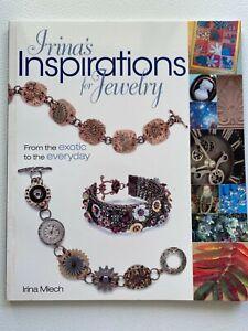 IRINA'S INSPIRATIONS FOR JEWELRY BOOK   BY IRINA MIECH