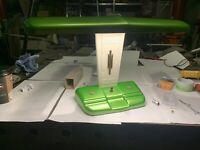Vintage Art Deco Desk Top Lamp Schreibtischlampe