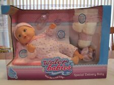2017 WATER BABIES SPECIAL DELIVERY BABY DRINK & WET FEELS LIKE A REAL BABY--NEW