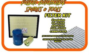 Oil Air Fuel Cabin Filter Service Kit for PEUGEOT 207 A7 CC 1.6L EP6 02/07-on