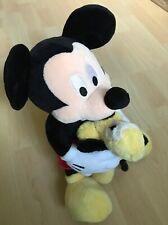 DISNEYLAND MICKEY MOUSE mit GOOFY Micky Maus Plüsch Stofftier Kuscheltier PARIS