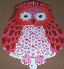 "20""  Owl shape birthday/valentine foil balloon air/helium fill"