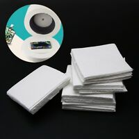 50 Pcs Glass Fusing Paper Sheets Square Microwave Ceramic Fiber Household Kiln