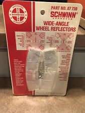 VINTAGE SCHWINN Wide Angle Wheel REFLECTORs OEM NOS! 1976