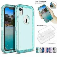 Clear Defender Transparent Case for iPhone 8 7 6s Plus XR X Fits Otterbox Clip