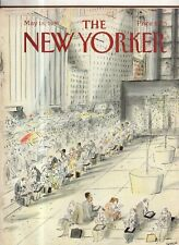 1987 New Yorker May 18 - Laptop Lunch on Broadway - Sempe (Cuba in Miami)