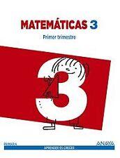 (14).MATEMATICAS 3ºPRIM.(CANT/BAL/CL/CAT/MUR) TRIMESTRAL