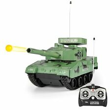 RC Power BB Tank Radio Remote Control Military Battle Tank that Shoots Airsof...