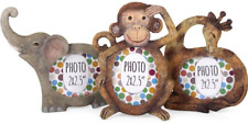 Monkey Design Small Photo Frame Holds Picture 6cm Tall and 4.5cm Wide