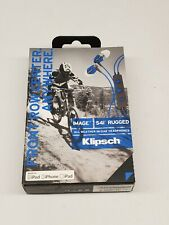 Klipsch Image S4i Rugged All Weather In-Ear Headphones In Line Microphone