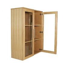 Alphason Oakwood Wide Glazed Bookcase - Home/Small Office - aw6326-wbc
