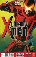 UNCANNY X-MEN 1 RARE VARIANT JOE QUESADA COLOR 1:100 VOLUME 3 2013 NM