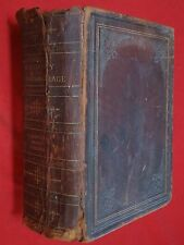 1895 LG. FUNK & WAGNALLS~.STANDARD DICTIONARY /ENGLISH LANGUAGE/ COLOR PLATES