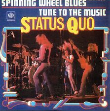 ★☆★ CD SINGLE STATUS QUOSpinning Wheel Blues 2-track CARD SLEEVE   ★☆★