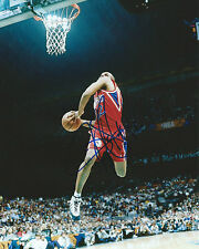 Jerry Stackhouse *PHILADELPHIA SIXERS* Signed 8x10 Photo COA GFA