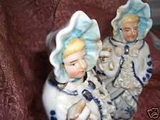 Porcelain  Nodder Figurine Victorian Lady antique pair!