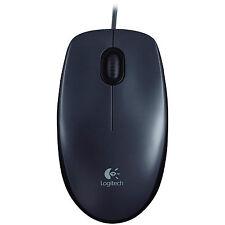 Logitech M90 optische USB Maus dunkelgrau Optical Mouse NEU 910-001794 Retail