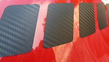 FIAT 500 CARBONO FIBRA CARRERAS Rallas estilo Adhesivos