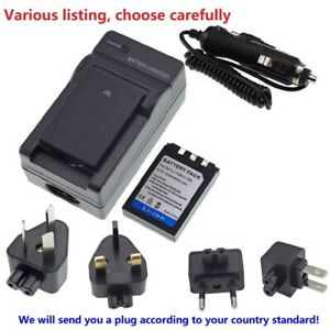 Battery or charger For OLYMPUS LI-10B LI-12B FE-200 C-50 Zoom Stylus 1000 u1000