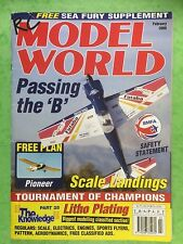 RC Model World - Radio Controlled Aircraft, February 2000 - Free Plan Pioneer