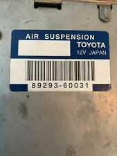 Toyota Land Cruiser  Air Suspension ECU Module J120 J12 Lexus 470
