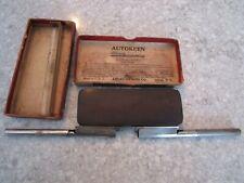 Vintage RARE Autokeen American Hone Co Sharpener Hone and extra Blade Holder