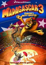 MADAGASCAR 3 CARTOON ARABIC DVD ENGLISH SUBTITLES