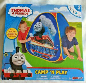 New! Thomas the Train Camp N Play Tent Playhut
