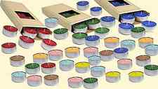 10 Tealights Scented Candles 5 Hours Diferent Colors & Fragances(2) Made in USA