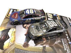 Batman v. Superman Ltd Edition 2 Car Set Action Racing Nascar Dale Earnhardt Jr