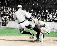 Ty Cobb Photo 8X10 - Detroit Tigers Spikes 1920 COLORIZED - Buy Any 2 Get 1 Free